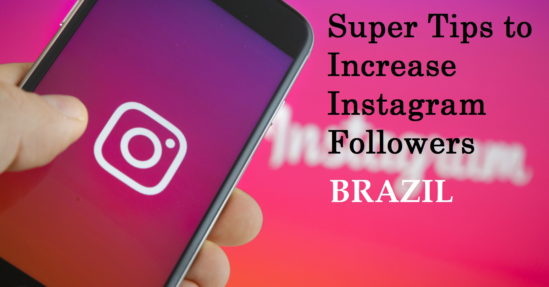 Instagram followers hack smmsumo 5 super tips to increase instagram followers ccuart Choice Image