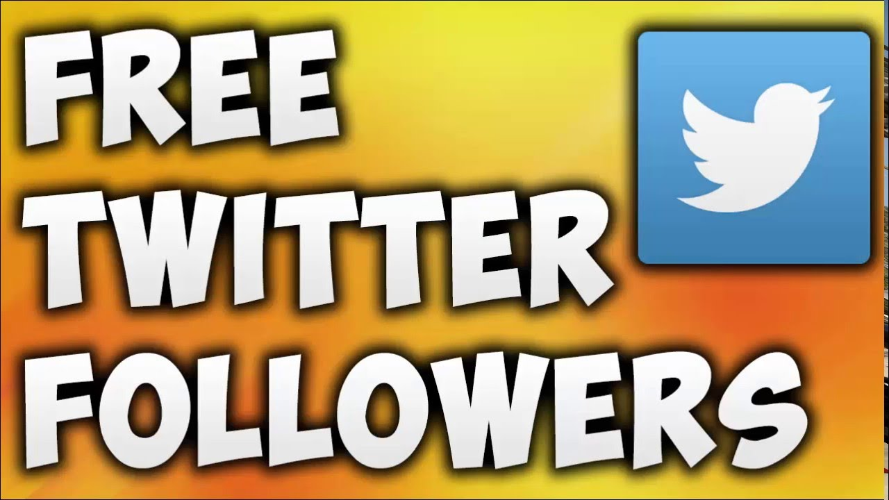 How to get real followers on twitter without using any tools