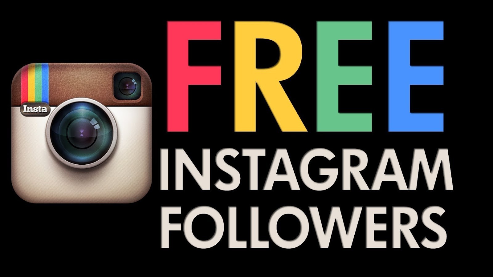 Gain Real Instagram Followers Free | Free Instagram